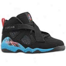 Jordan Aj 8.0 - Little Kids - Black/neptune Blue