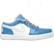 Jordan AjV .1 - Mens - White/white/italy Blue/university Blue