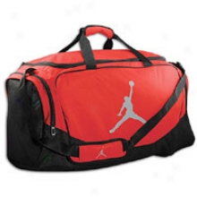 Jordan All Day Duffle - Gym Red/matte Silver