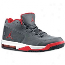 Jordan Big Fun Viz Rst - Mens - Anthracite/varsity Red/black/white
