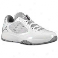 Jordan Blazin - Mens - White/metallic Silver/white