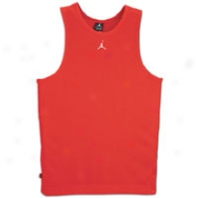 Jordan Buzzer Beater Tank - Mens - Varsity Red/white