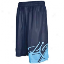 Jordan Flag Of Foight Short - Mens - Obsidian/universitty Blue