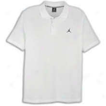 Jordan Core Polo - Mens - White/black