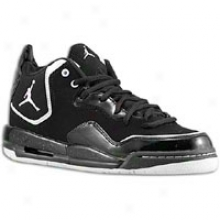 Jordan Courtside Flight - Big Kids - Black/white