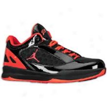 Jordan Cp Too Quick - Mens - Black/team Orange