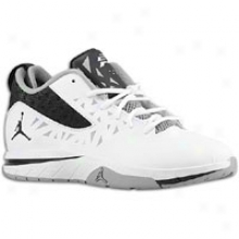 Jordan Cp3.v - Little Kids - White/black/cement Grey
