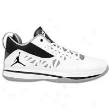 Jordan Cp3.v - Mens - White/black/cement Grey