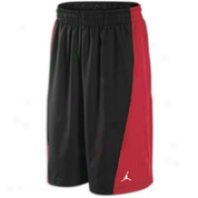 Jordan Cp3.v Short - Mens - Black/varsity Red/white