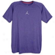 Jordan Dominate T-shirt - Mens - Club Purple/wolf Grey