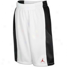 Jordan Durashheen Short - Big Kids - White/black/anthracite