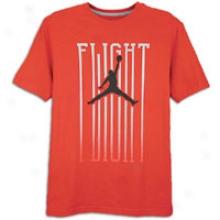 Jordan Fading Flight T-shirt - Mens - Varsity Red/black