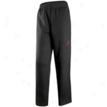 Jordan Fleece Pant - Big Kids - Black/varsity Red