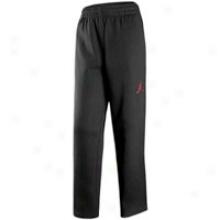 Jordan Fleece Pant - Big Kids - Black/varsity Red