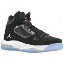 Jordan Flight 23 Rst - Big Kids - Black/gym Red