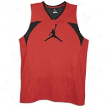 Jordan Flighten Up Jersey - Mens - Varsity Red/black/black