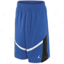 Jordan Flighten Up Short - Mens - Old Royal/black/white
