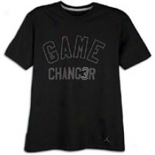 Jordan Game Changer T-shirt - Mens - Black/anthracite