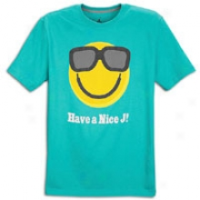 Jordan Have A Nice J T-shirt - Mens - New Green/tour Yellow