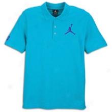 Jordan Jumbo Jujpman Polo - Mens - Aquatone/concord/concord