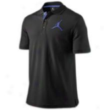 Jordan Jumbo Jumpman S/s Polo - Mens - Black/concord