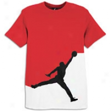 Jordan Jumbo Jumpman S/s T-shirt - Mens - Vatsity Red/black/white
