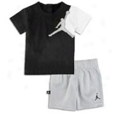 Jordan Jumbo Jumpy Set - Little Kids - Black/wolf Grey/white