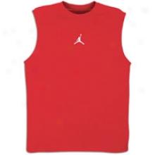 Jordan Jumpman Dri-fit S/l T-shirt - Mens - Varsity Red/white