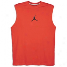 Jordan Jumpman Dri-fit Sleeveless T-shirt - Mens - Varsity Red/blwck