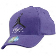 Jordan Jumpman Flight Stretch-fit Cap - Mens - Club Purple/black