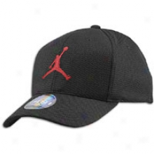 Jordan Jumpman Stretch Cap - Mens - Black/varsity Red
