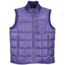 Jordan Lifestyle Box Quilt Dlwntown Vest - Mens - Club Purple/cool Grey/cool Grey