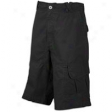 Jordan Lifestyle Clutch Cargo Short - Mens - Black/cool Grey/varsity Red