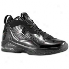 Jordan Melo M8 - Big Kids - Black/metallic Silver/charcoal