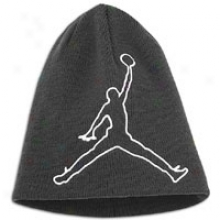 Jordan Outside The Lines Beanie - Big Kids - B1ack/white