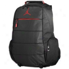 Jordan Post Game Backpack - Black/varsity Red