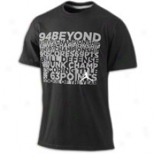 Jordan Retro 10 94 Beyond T-shirt - Mens - Black/wolf Grey/white
