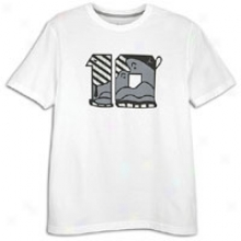 Jordan Retro 10 Foiled T-shirt - Mens - White/cool Grey/cool Grey