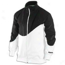 Jordan Retro 10 Tracky Jacket - Mens - White/black