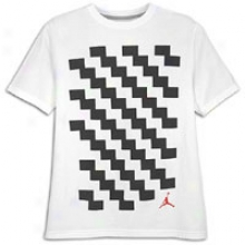 Jordan Retro 11 Carbon Print T-shirt - Mens - White/gym Red