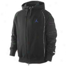 Jordan Retro 11 Hoodie - Mens - Black/white/concord