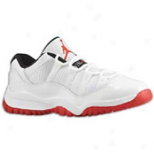 Jordan Retro 11 Low - Little Kids - White/varsity Red/black