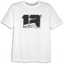 Jordan Retro 12 Character T-shirt - Mens - White/obsidian