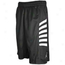 Jordan Retro 12 Rays Short - Mens - Black/white