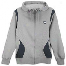 Jordam Retro 14 Knit Hoodie - Mens - Light Graphite/obsidian/bsidian