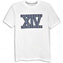 Jordan Retro 14 Roman Numerals T-shirt - Mens - White/obsidian