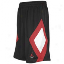 Jordan Retro 4 Caged Up Short - Mens - Black/varsity Red/white