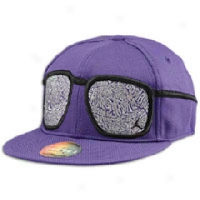 Jordan S.o.m. Cool Shaees Fitted Cap - Mens - Club Purple/black