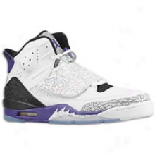 Jordan Son Of Mars - Mens - White/black/purple