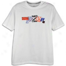 Jordan Spizike Fresh In Nyd T-shirt - Mens - White/varsity Royal/bkack